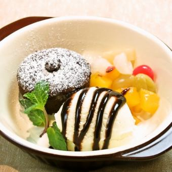 软糖巧克力〜香草冰块(抹茶或巧克力)