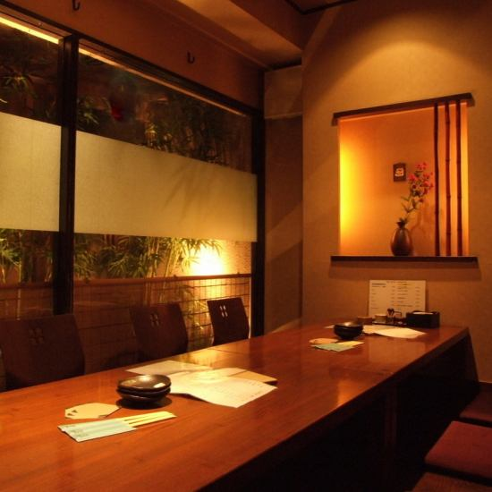 Broil meat of famous Miyazaki chicken and bamboo shoots of 100 birds and 4 people / 8 people / 10 people ~ Private rooms up to 27 people in popularity!