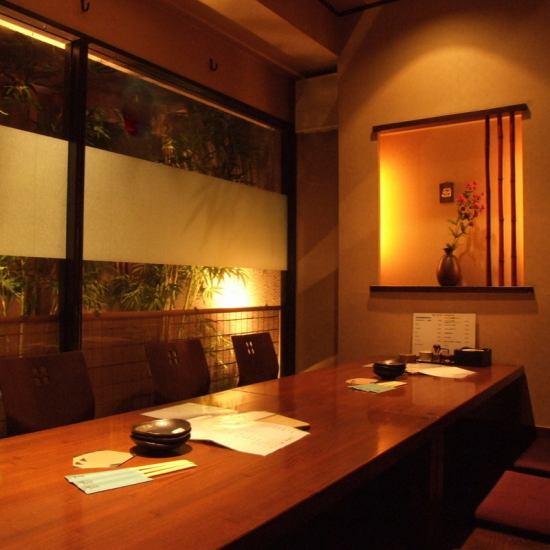 着名的宫崎鸡和100只鸡的竹笋烤肉,4人/ 8人/ 10人〜最多27人的私人房间!