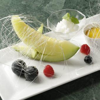 Assorted dessert