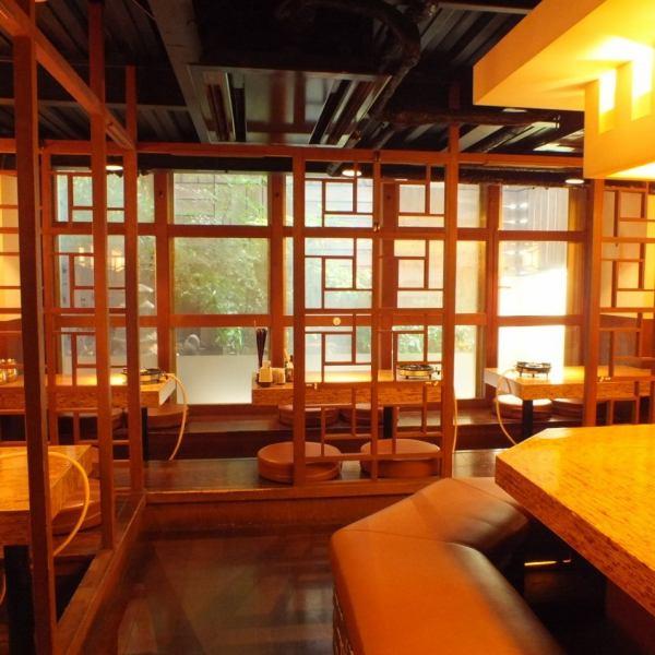 【烏丸・四条駅徒歩3分!】京都DAIMARUすぐの好立地!京町屋をイメージした【和】の上質な完全個室空間。4名様~最大16名様までの個室空間をご用意してます。