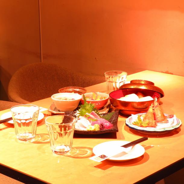 There are many boasts such as sashimi and sashimi, boasting! On the first floor the regular use like regulars is GOOD ◎ On the 2nd floor you can enjoy a space full of privacy ♪ ♪