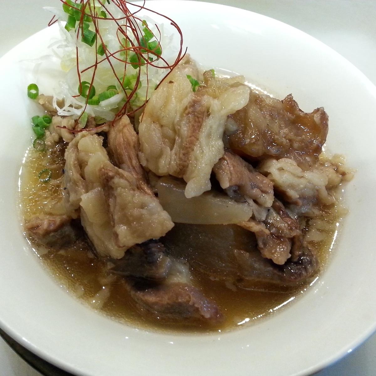 Braised stew with salt stew