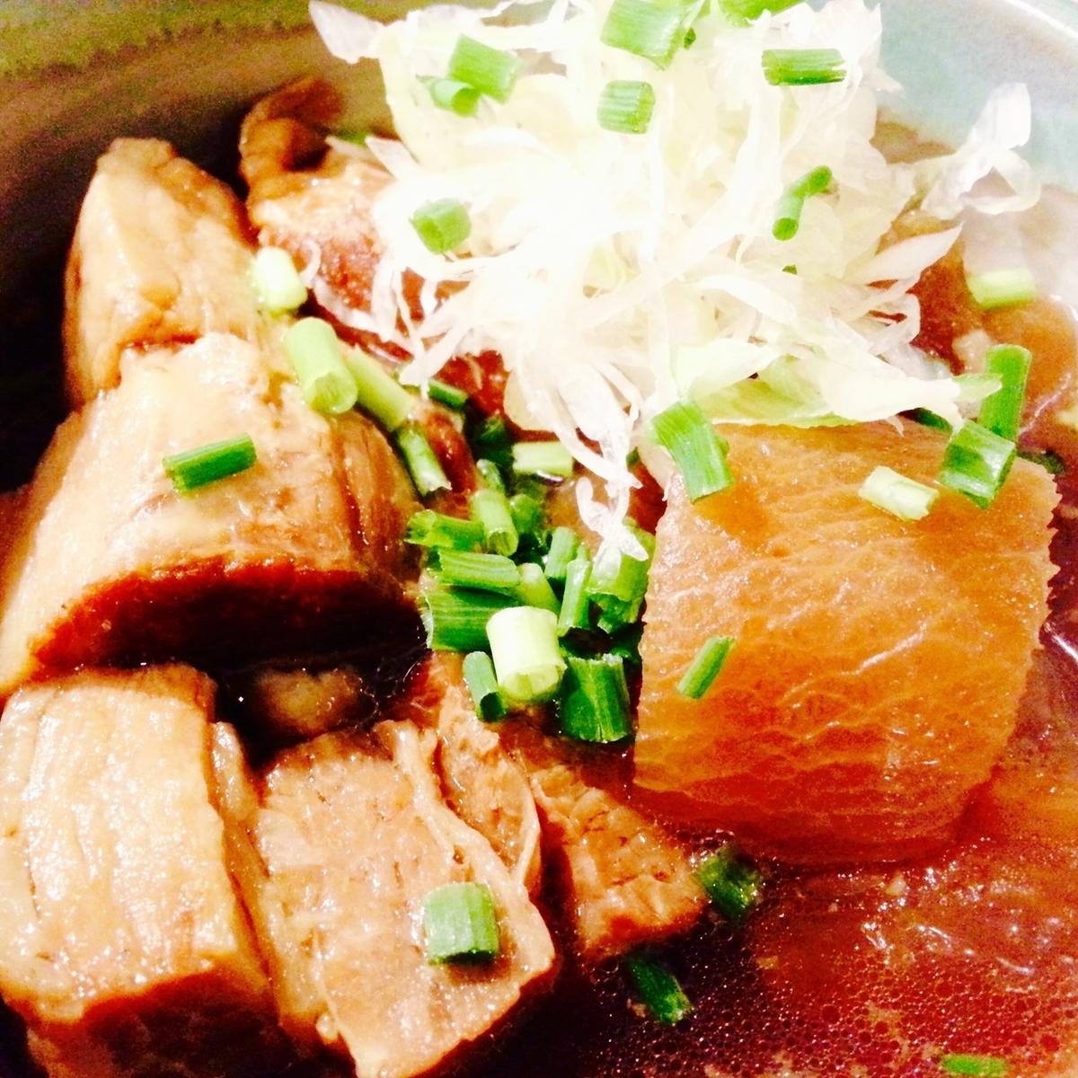 Pork belly boiled
