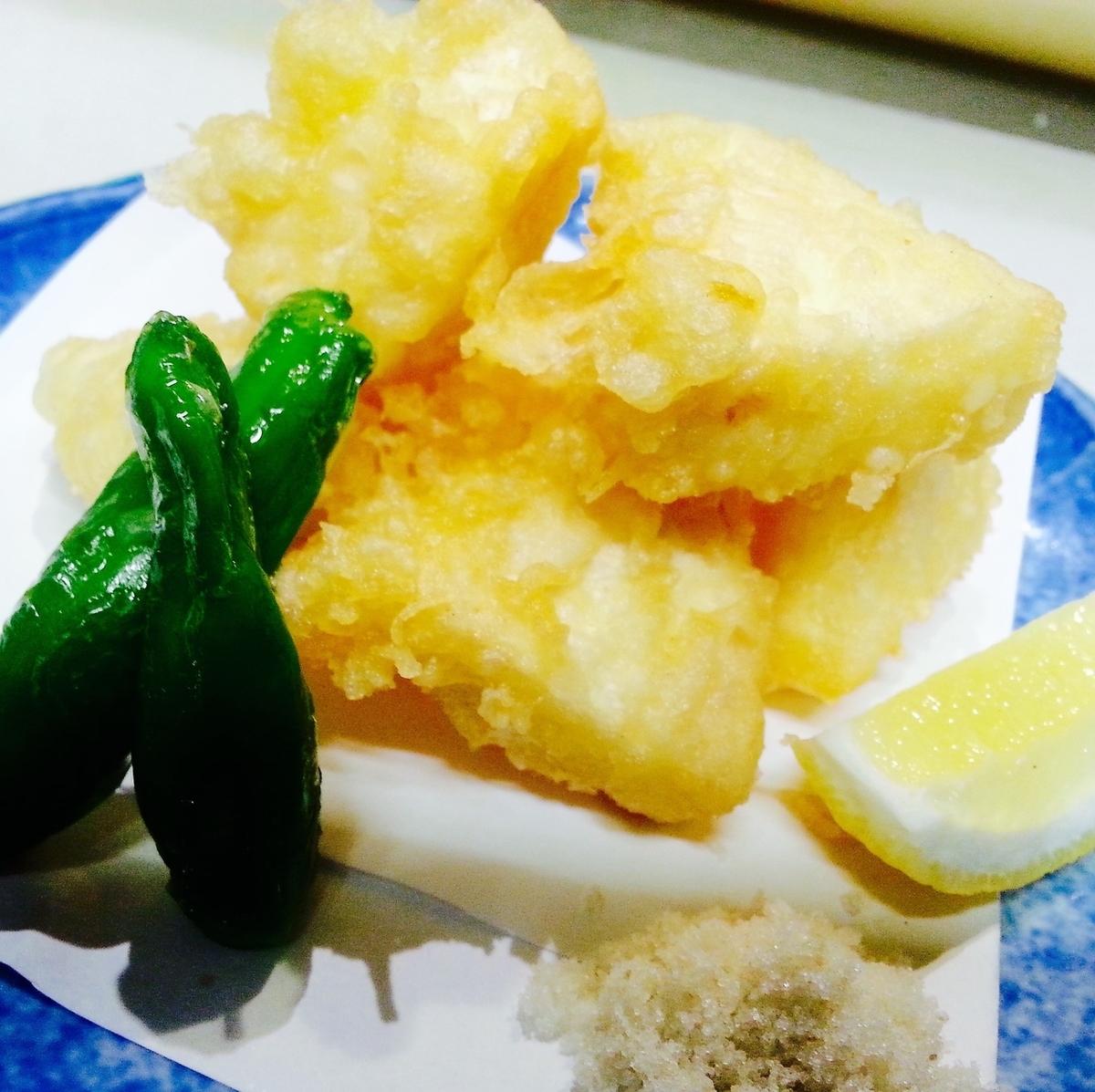 Camembert cheese Tempura