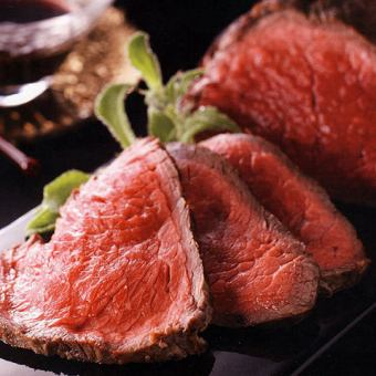 Aberdeen Angus cow's grilled steak