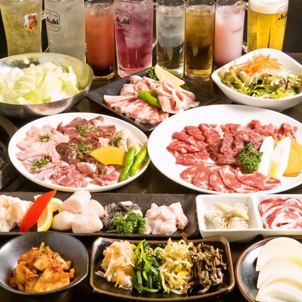 免費推廣!到3H中的推薦!! 2H吃所有你可以喝男5000日元女人3000日元在大量人的宴會的♪女性多數