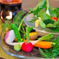 新鮮野菜のBagna Cauda(バーニャカウダ)