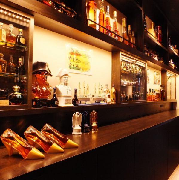 進入一個步驟時,整個牆壁上都會有一瓶清酒!在菜單中飲用所有500日元的東西!Yamazaki,Mori Iso,惡魔之王,Joni Blue以及500日元!當然原始飲料水果高球在女性中非常受歡迎♪