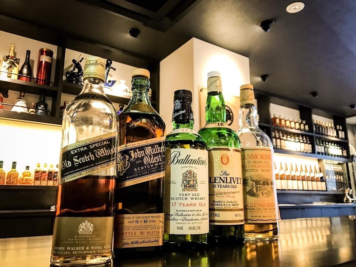 成本破解威士忌很多!
