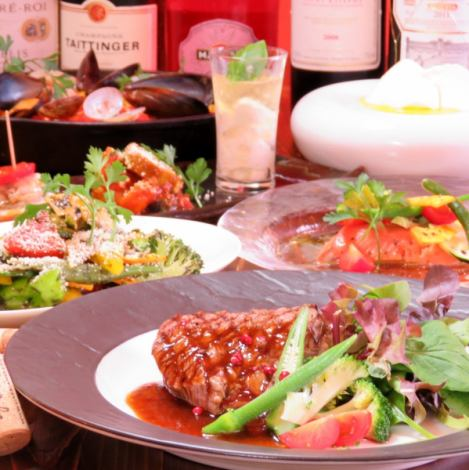 [Delicious things full stomach] cuisine only 8-course 4500 yen ⇒4000 yen