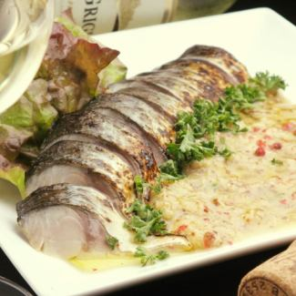 Broiled Mackerel Carpaccio
