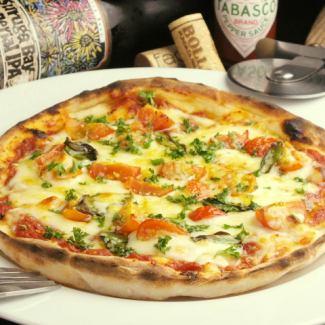 토마토와 바질 피자 (8inch)