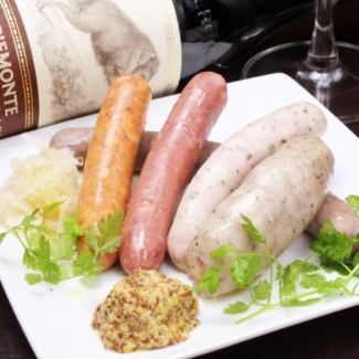 【Sausage】 Recommended sausage assortment