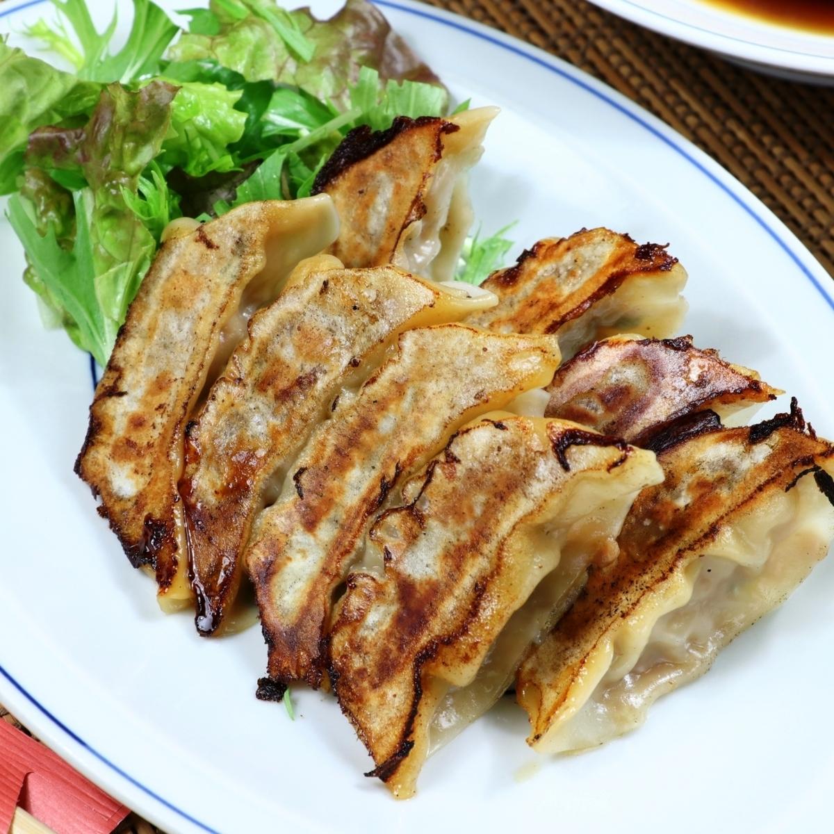 烤饺子(8件)