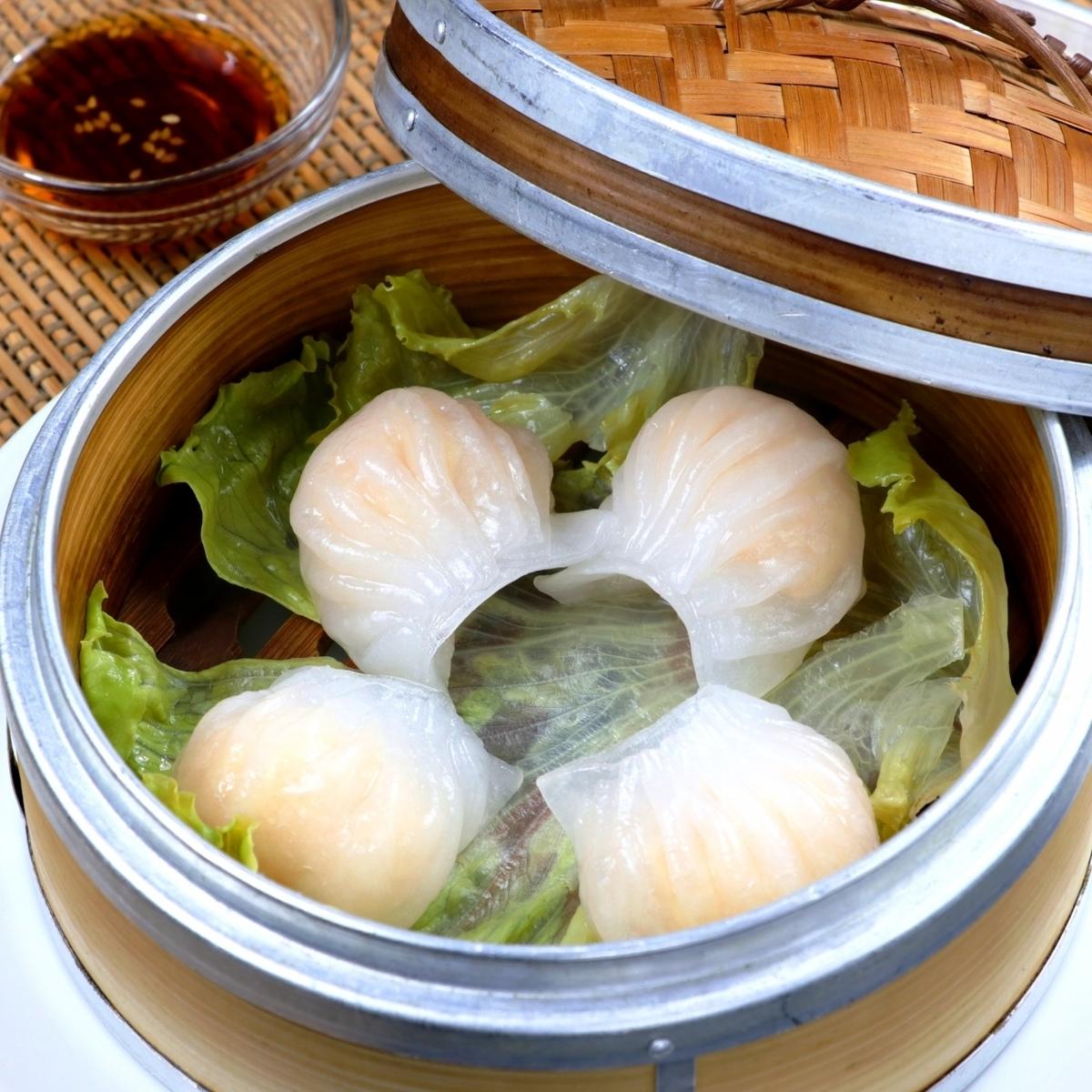海老蒸し餃子(4個)