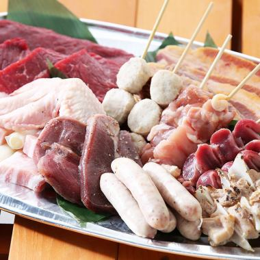 Of course the barbecue is meat !! Karai outside, drinking with juicy meat inside is the best ♪