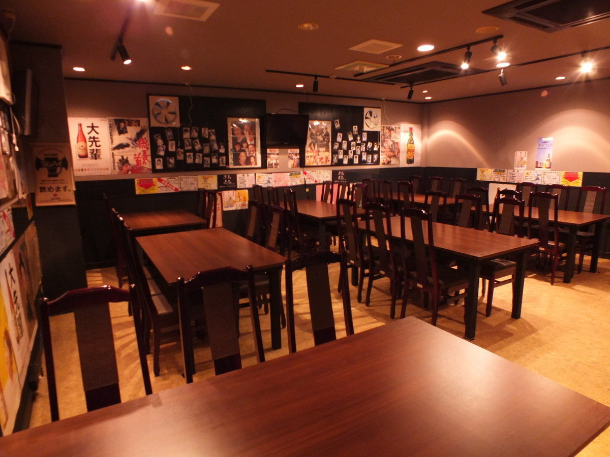[Table Seating Banquet Usage (Large Room)] For standing style it is possible to use up to 80 people.Please use by all means at company / circle drinking party, various events etc.In that case, course dishes and all you can drink are recommended.Please feel free to contact us.