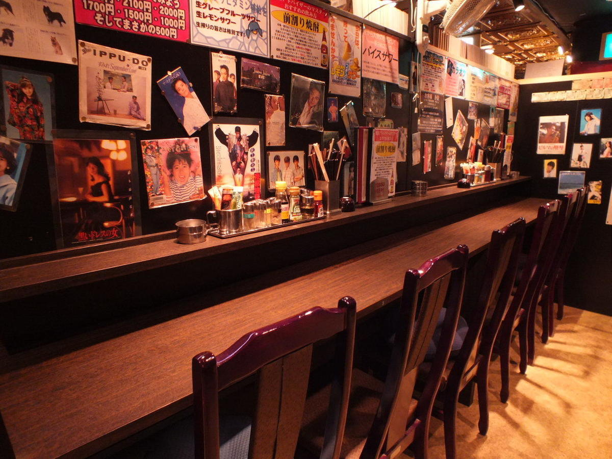 [Counter Seat] You can use it from 1 person.Although it is a large-scale Izakaya, it has a counter seat for properly small numbers.We welcome all the staff brightly and cheerfully Please feel free to come!