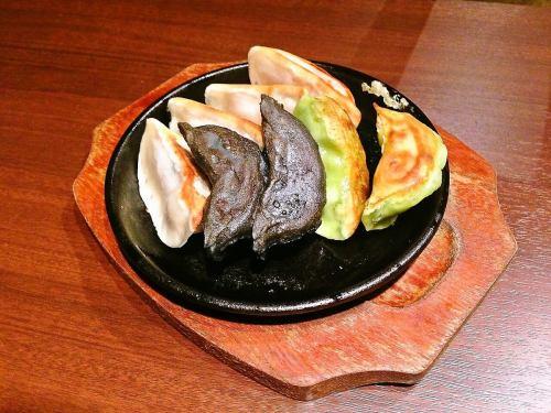 肉餃子/五目春巻き/蒸しゅうまい/揚げしゅうまい