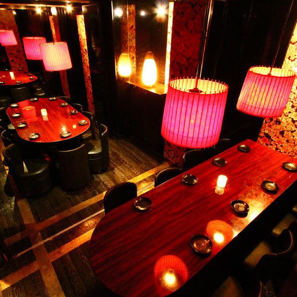 ◆全席個室ラグジュアリー空間◆立川個室♪最大30名様の、宴会が可能です★【2名様~30名様】【堀炬燵個室空間】和のパネルと光のバランスが調和されており、雰囲気が自慢の個室です。 【2名様~24名様】モダンな空間は落ち着きのある造りとなっております。セパレートタイプなので、お隣を気にせずゆっくりお過ごし下さい。