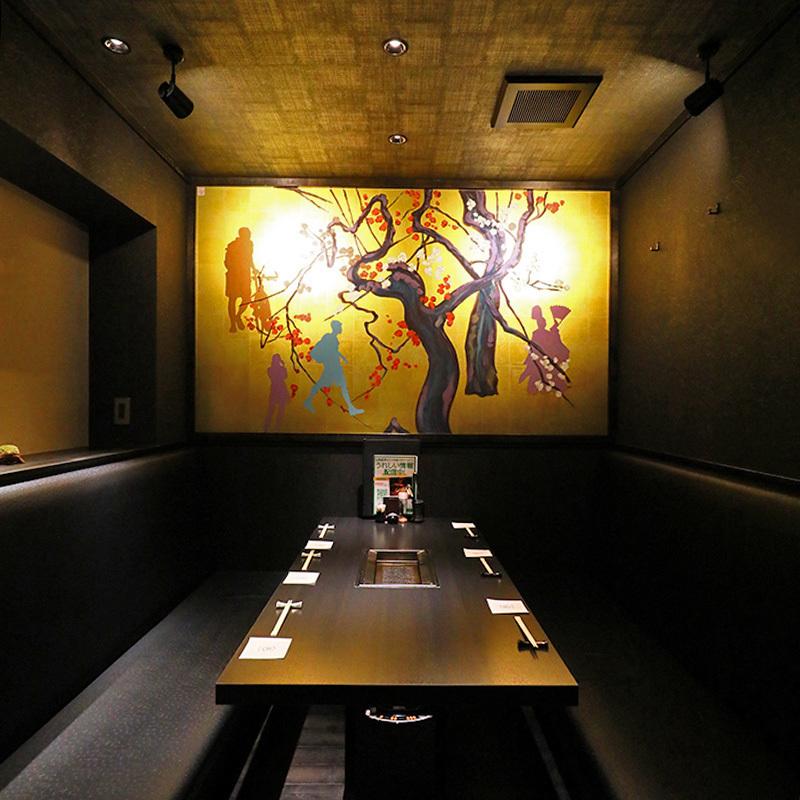【2階:テーブル個室】海外からのお客様に京都らしい雅なおもてなしを(6名様まで※お席は2時間制となります。)