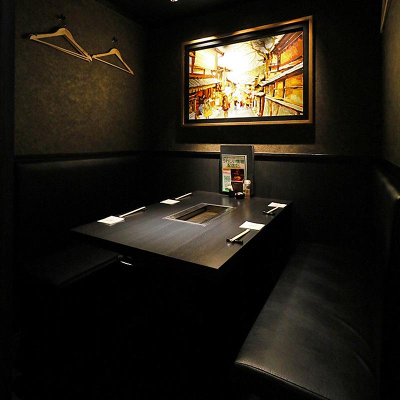 【1階:テーブル個室】大人たちの普段使いにぴったりな少人数個室(4名様まで※お席は2時間制となります。)