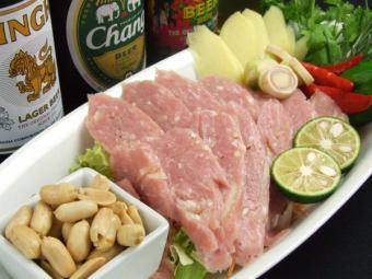 ネーム~国産豚肉を使った自家製ソーセージ~