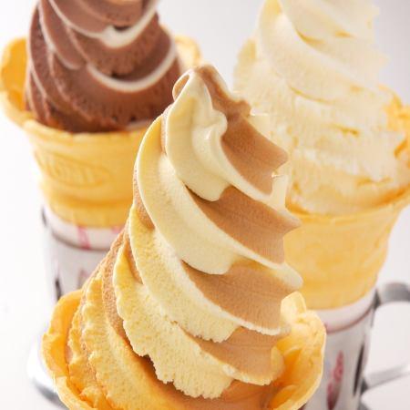 ソフトクリーム各種