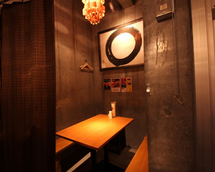 We also have semi-private rooms.Available for 10 to 18 people, 4 to 7 people ☆