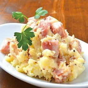 Potato bacon potato salad