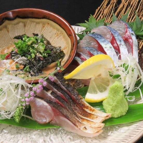 【Gisen Misuba】 The direct flavor of Gokushima mackerel is condensed with crunchy crunch and umami.Since there are sold out, staff as well when you visit us ...