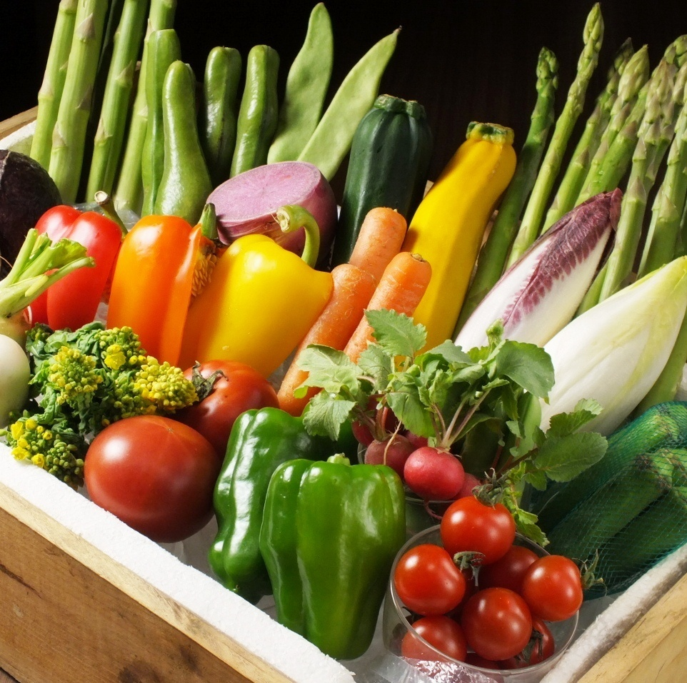 Ijima-made vegetables etc, use commitment materials.