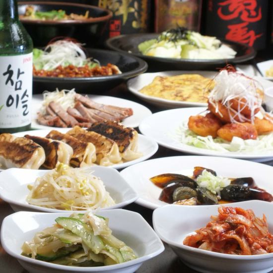 "Fusion of authentic flavor ""Chinese"" and ""Korean food"".Cooking is 88 yen ~!"
