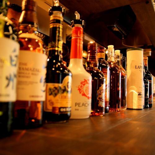 许多鸡尾酒和饮料