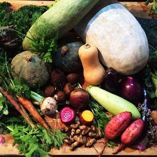 【銀座駅から徒歩6分】自社農園から有機野菜をお届け!