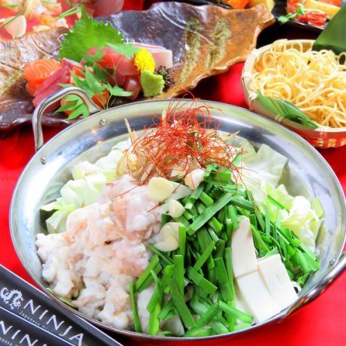 【醬油鍋】新年派對Nabei Nabe [烹飪]總共7項+ 180分鐘[飲用] 4500日元⇒4000日元★週六120分鐘