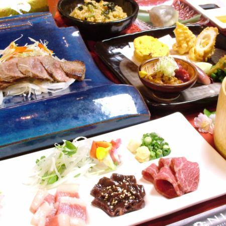 [地區美食] [套餐] 10項+ 180分鐘[飲用]⇒5000日元★土壤僅120分鐘