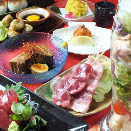 所有你可以吃的新感觉!你可以选择65项♪忍者派对[计划] + 120分钟[饮酒]⇒♀♀3000日元♂3300日元