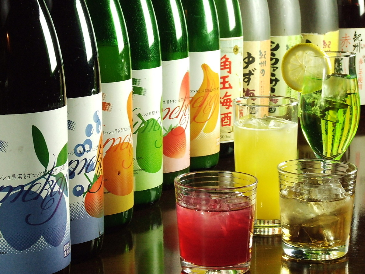 Variety of rich plum wine ♪ Popular with women too!
