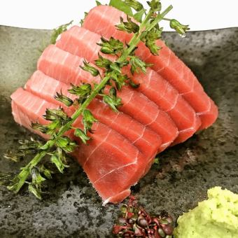 Tuna inside tuna sashimi