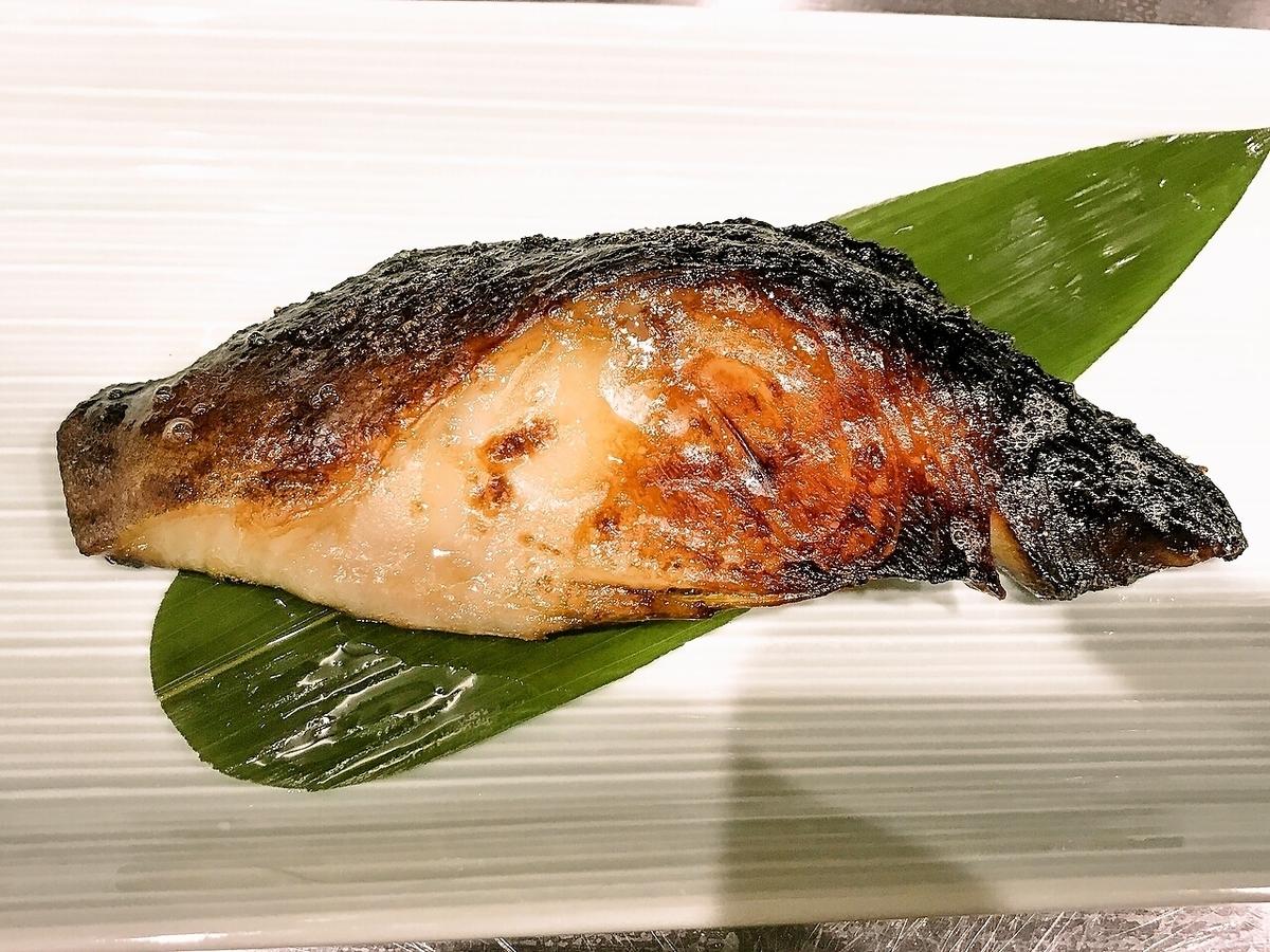When silver is Nishikyo grill