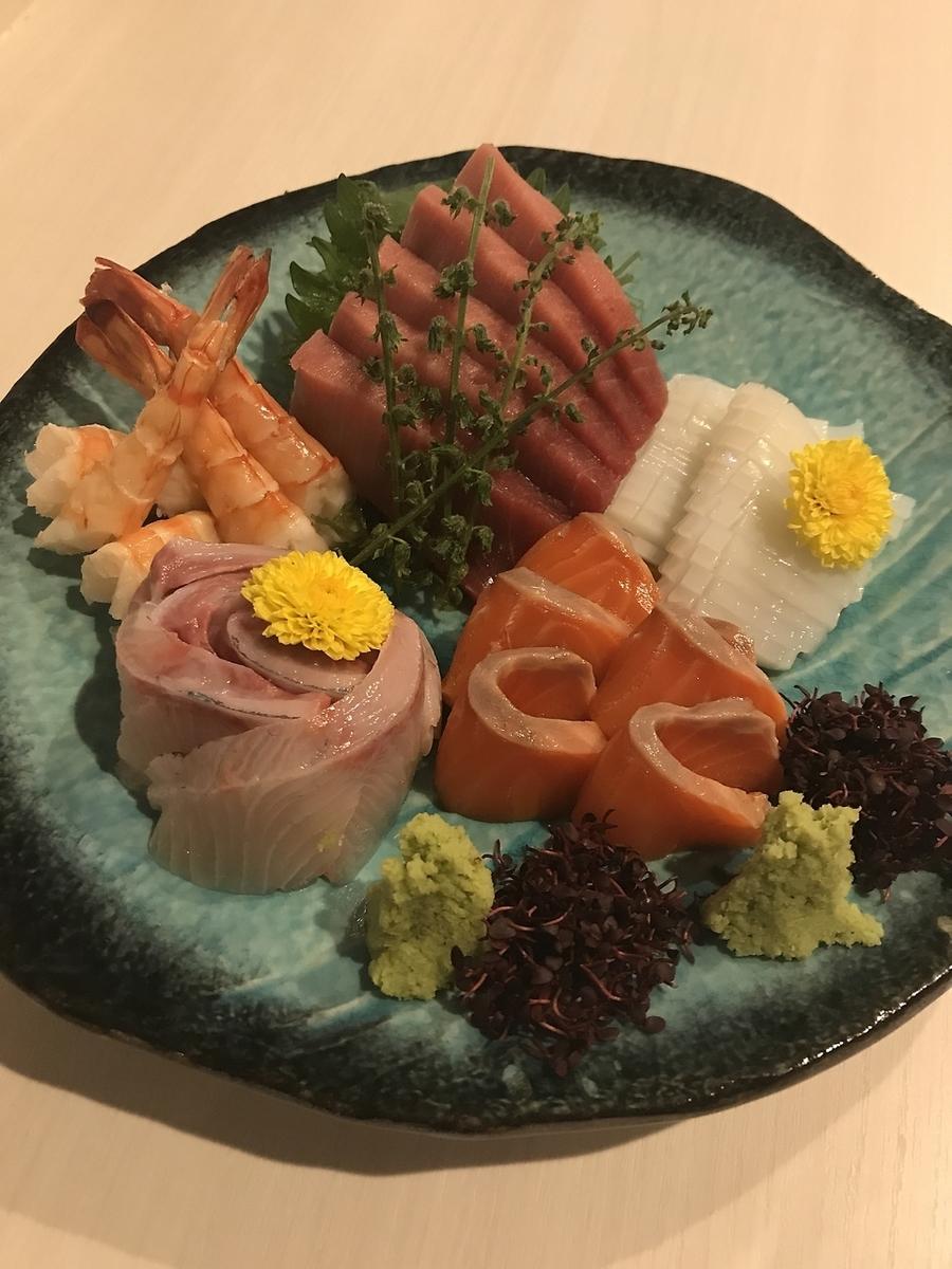 ☆ Five pieces of sashimi prime ☆