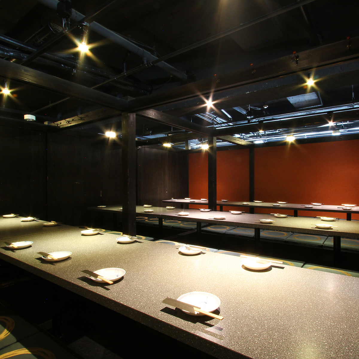 Setting according to the number of guests of the reservation.If you are looking for a tavern in a fully-private room around Kanda station, please use the private room Izakaya North Kanda store ★