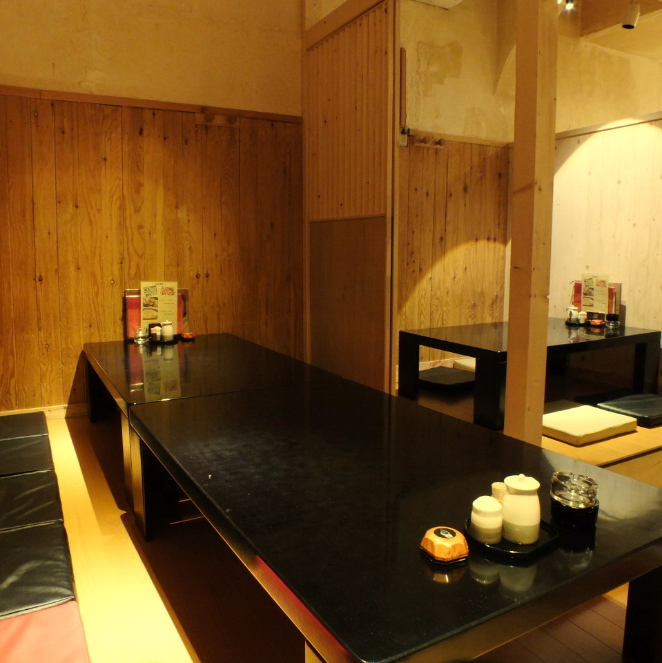 Private room in the Zashiki.It is possible to respond to the number of people It is possible to a maximum of 14 people.