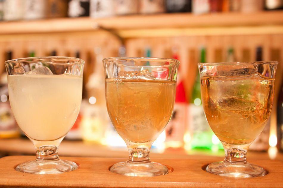 3種梅酒飲用比較