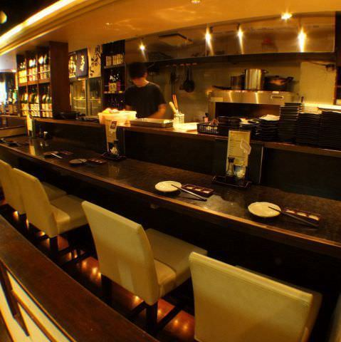 Dating ◎ Counter seats are outstanding atmosphere!