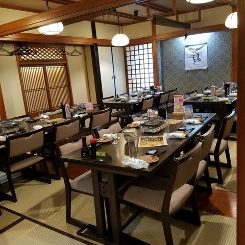 Ozaki private room is recommended for 10 to 35 people! For banquets!