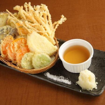 地野菜天ぷら盛り合わせ