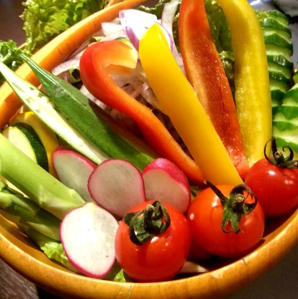 Use Itoshima vegetables! Please eat deliciously with Himalayan salt and beauty dreary!